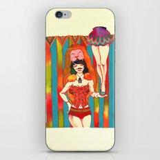 Strong woman iPhone & iPod Skin