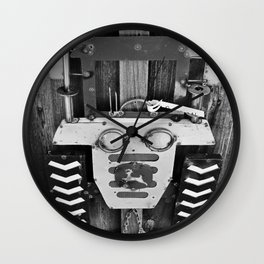 A Time Gone By V Wall Clock