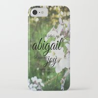 abigail larson iPhone & iPod Cases featuring Abigail by KimberosePhotography