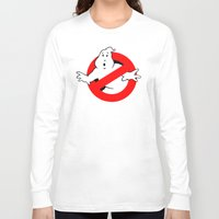 ghostbusters Long Sleeve T-shirts featuring Ghostbusters by IIIIHiveIIII