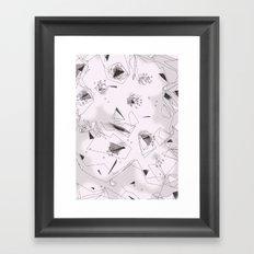 Cherry Flowers Framed Art Print