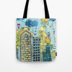 Livin' In The City  Tote Bag