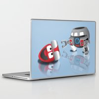 olaf Laptop & iPad Skins featuring OLAF - INCENT by dapperdesignz