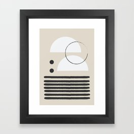 Abstract Modern Art Framed Art Print