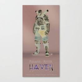 Ruger - Paladin -COLOR -Haven Book Series Canvas Print