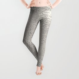 Simply Metallic in Silver Leggings