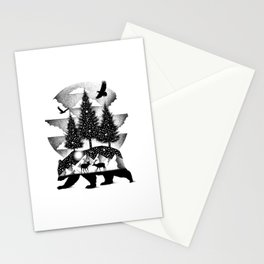 A NIGHT IN ALASKA Stationery Cards