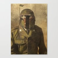 general Canvas Prints featuring General Fettson   by Terry Fan