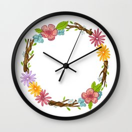 Fuck this shit Wall Clock
