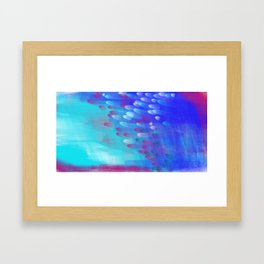 Feathers in the Sky Framed Art Print