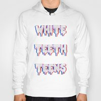 lorde Hoodies featuring White Teeth Teens by Wis Marvin