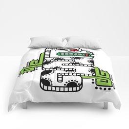 Koru-Fern Serpent Comforters
