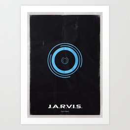 AI - Jarvis Art Print