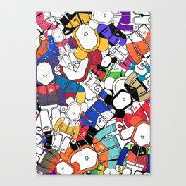 BEARBRICK 400% WINDRUNNER Canvas Print