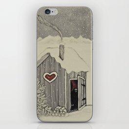 """Tomten Elmer's"" private moment. iPhone Skin"