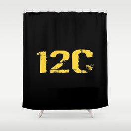 12C Bridge Crewmember Shower Curtain