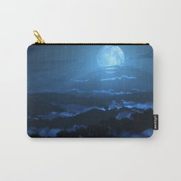 Rolling Ridges (Night) Carry-All Pouch
