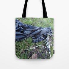 Umbrella Blues 3 Tote Bag
