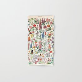 Adolphe Millot - Fleurs pour tous - French vintage poster Hand & Bath Towel