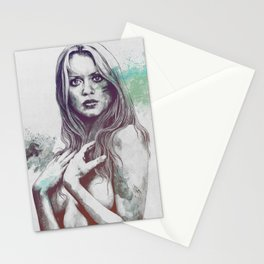 Gloria: Blue Stationery Cards