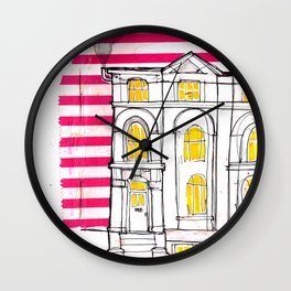 london house Wall Clock