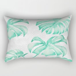 city leaf Rectangular Pillow