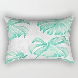 city leaf Rectangular Pillow