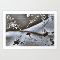 Silly String Series - Collarbone  Art Print