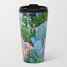 Succulents & Flowers Travel Mug
