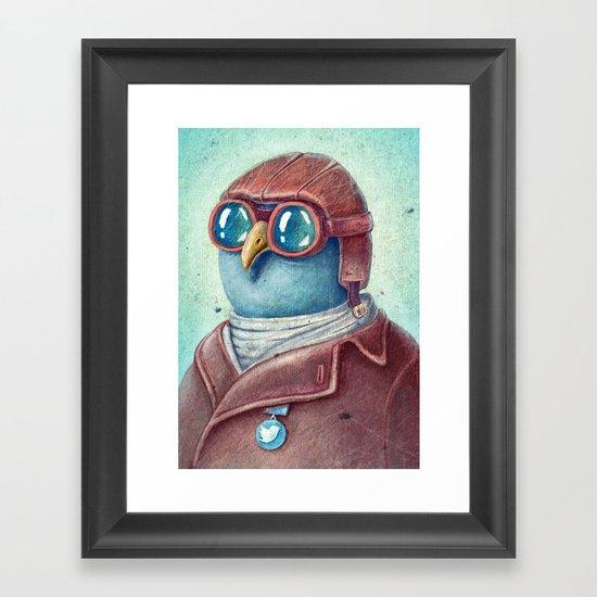 Pilot Captain Ivan Twittor Framed Art Print