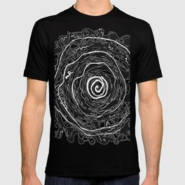 Black and White Abstraction #3 T-shirt