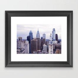 TRILLADELPHIA Framed Art Print