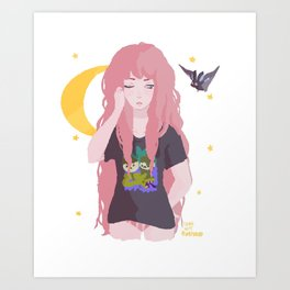 Bubbline Art Print