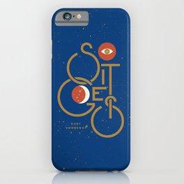 """So It Goes"" — Kurt Vonnegut iPhone Case"