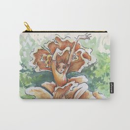 Empire of Mushrooms: Cantharellus cibarius Carry-All Pouch