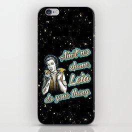Chola Leia iPhone Skin