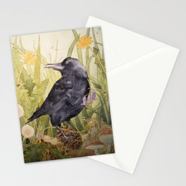 Canuck the Crow Stationery Cards
