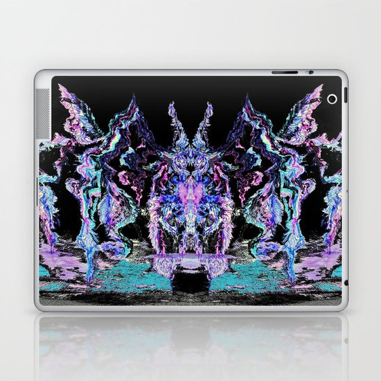 Smoke and Feathers Laptop & iPad Skin