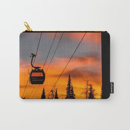 Paint the Sky Orange Carry-All Pouch