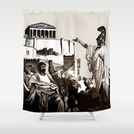 PERICLES - the speech Shower Curtain