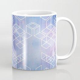 Watercolour Grid Coffee Mug