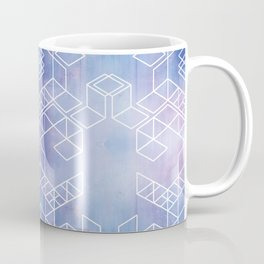 Watercolour Grid Coffee Mug
