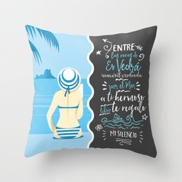 EsVedrá Throw Pillow