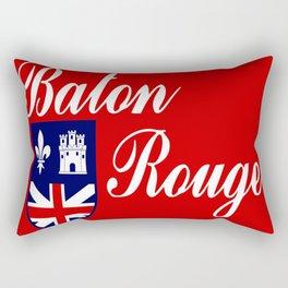flag of baton rouge Rectangular Pillow