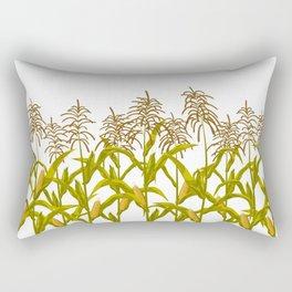 Corn maize pattern Rectangular Pillow