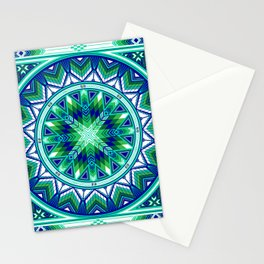 Sacred Places Green Stationery Cards