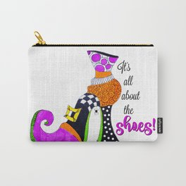 It's All About the Shoes! Carry-All Pouch