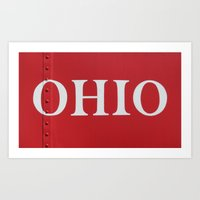 ohio Art Prints featuring OHIO by Leah M. Gunther Photography & Design