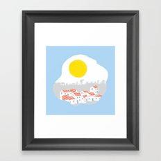 Breakfast Day  Framed Art Print