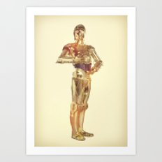 Rodot: Protocol Droid Art Print